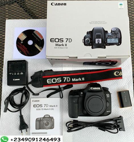 canon 7d mark ii camera