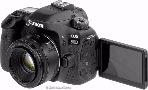 canon 80d lente 18-135 wifi tactil lcd sup 70d belgrano 2018