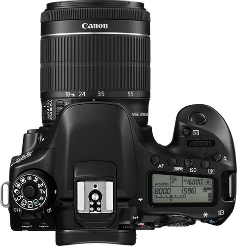 canon 80d lente 18-55 24.2 mpx lcd 3 tactil full hd wifi