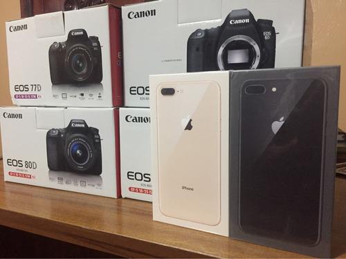 canon 80d + lente 18-55mm + 16 gb, buen precio