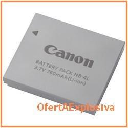 canon bateria nb-4l  li-ion para camara powershot sd630
