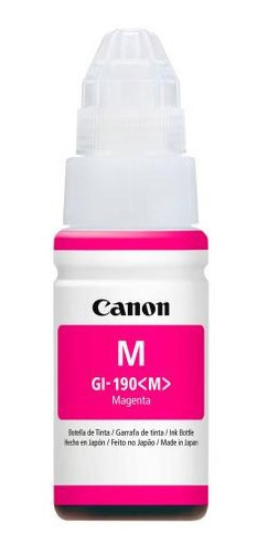 canon botella tinta gi-190 lam sistema continuo fotografia