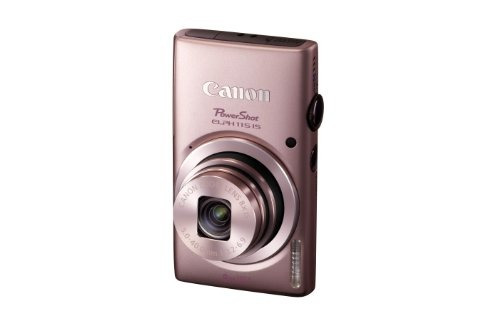 canon cámara digital powershot elph 115 16mp (rosa)...