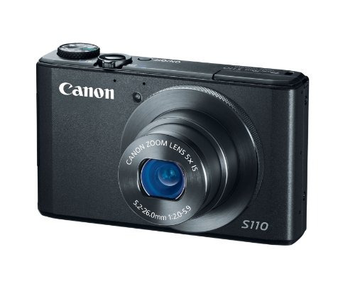 canon cámara digital powershot s110 12mp con pantalla lcd...