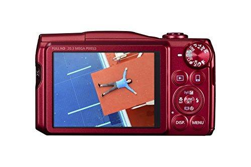 canon cámara digital powershot sx710 hs (rojo) - versión...