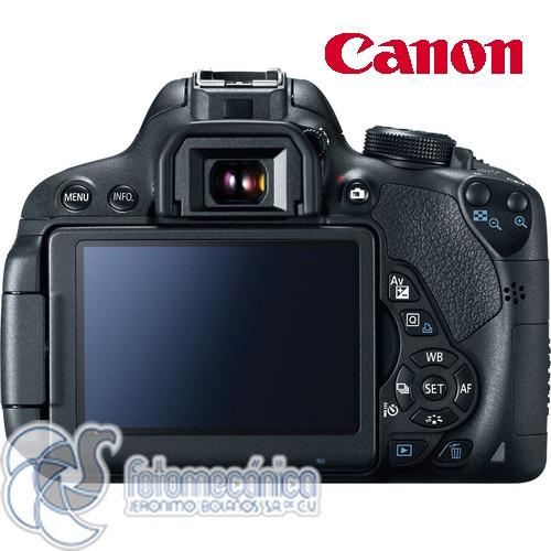 canon cámara digital reflex