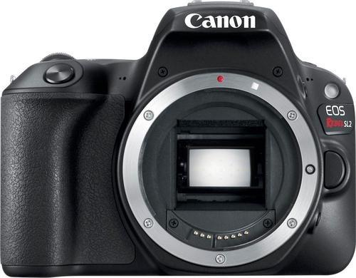 canon - cámara dslr eos rebel sl2 (solo cuerpo) - negro