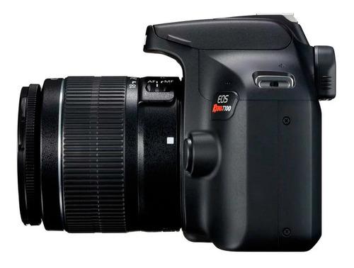 canon cámara t100 18 mp wifi fullhd + lente 18-55mm lcd 2.7¨