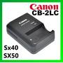 Cargador Original Canon Cb-2lc Powershot Sx40 Sx50 Nb-10l