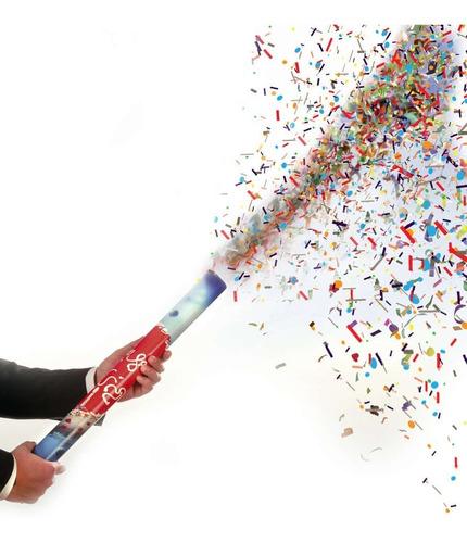 cañon confeti confeti fiestas