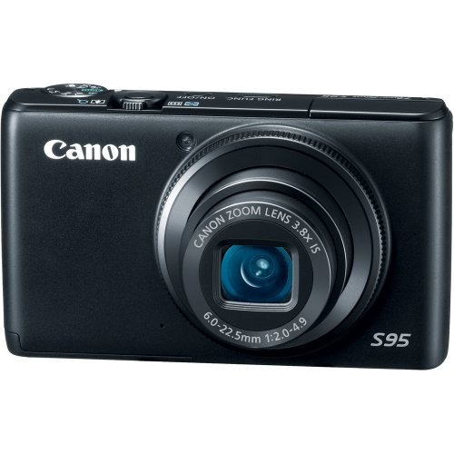 canon disparo de energía s95 cámara digital de 10 mp con...