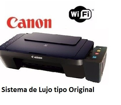 Canon E471 Wifi Con Sistema Continuo De Tintas De Lujo