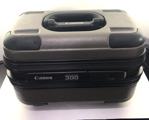 canon ef 300mm f/2.8 l is usm muito bem conservada c/ case #