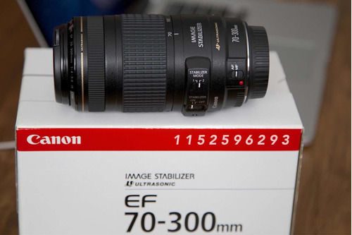canon ef 70-300mm is usm (estabilizado)