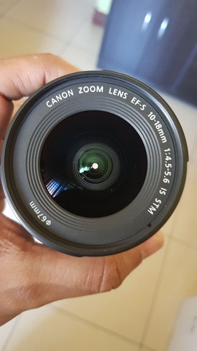 canon efs 10-18mm impecable
