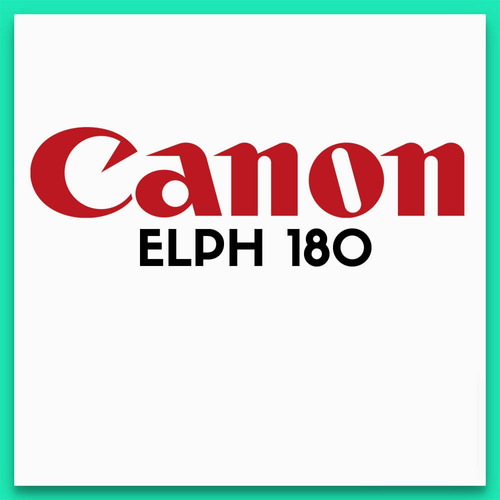 canon elph 180 camara digital 20 mp zoom 8x video hd 720
