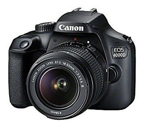 canon eos 4000d kit 18-55.