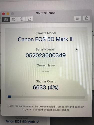 canon eos 5d mark iii 6633 clicks