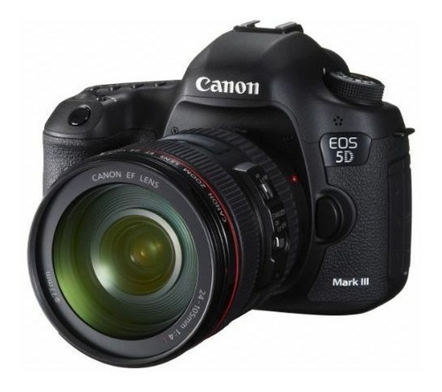 canon eos 5d mark iii camara w/ ef 24-105mm f/4 l is usm len