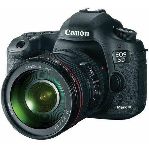 canon eos 5d mark iii camara w/ lens 24-105mm f/4l is ii usm