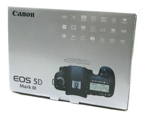 canon eos 5d mark iii de 22,3 mp slr digital cámara