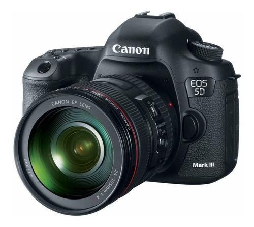 canon eos 5d mark iii dslr + ef 24-105mm f/4l is usm lens