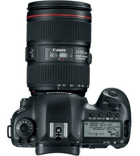 canon eos 5d mark iv full frame digital slr ef 24-105mm