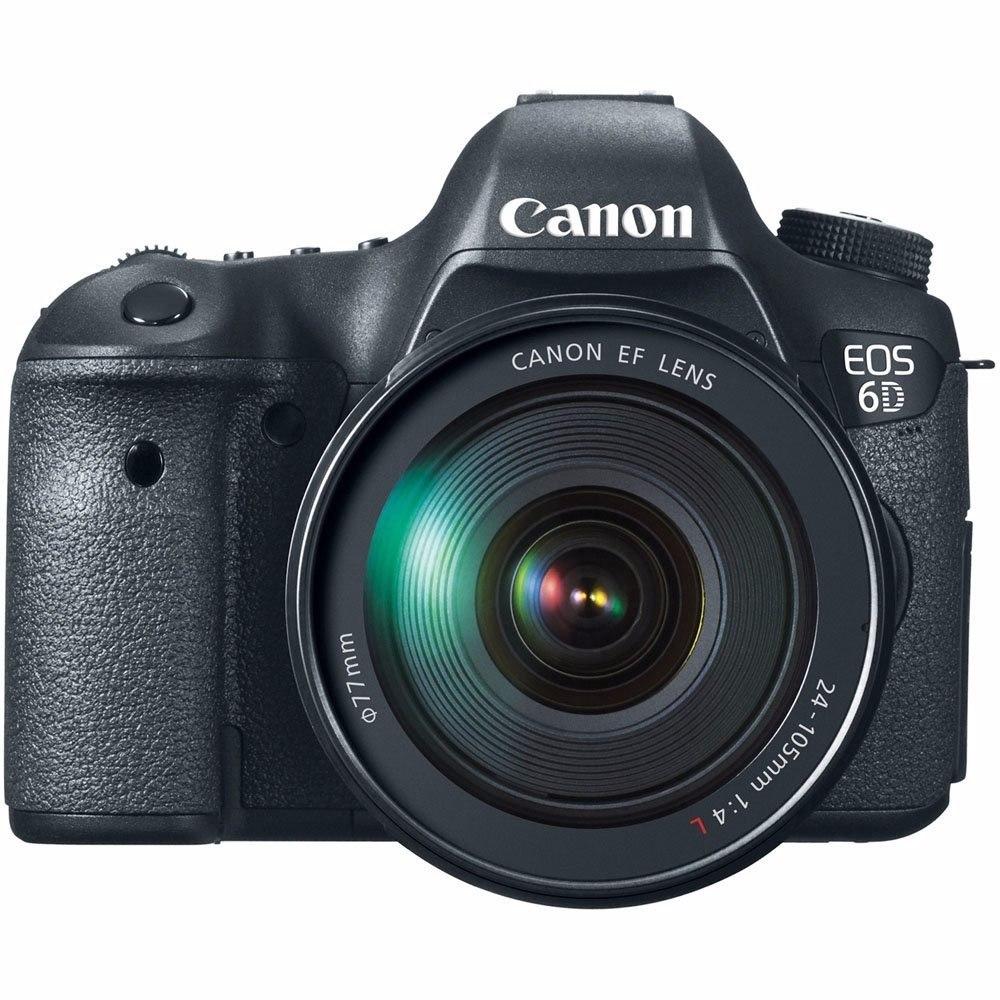 Canon Eos 6d 24-105mm Usm Linea Roja Lente Kit - S/ 6.450,00 en ...