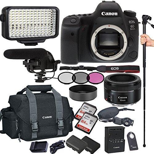 canon eos 6d mark ii 26.2 mp cmos de la cámara dslr con ef 5