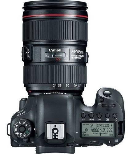 canon eos 6d mark ii dslr camera con 24-105mm f / 4 lens