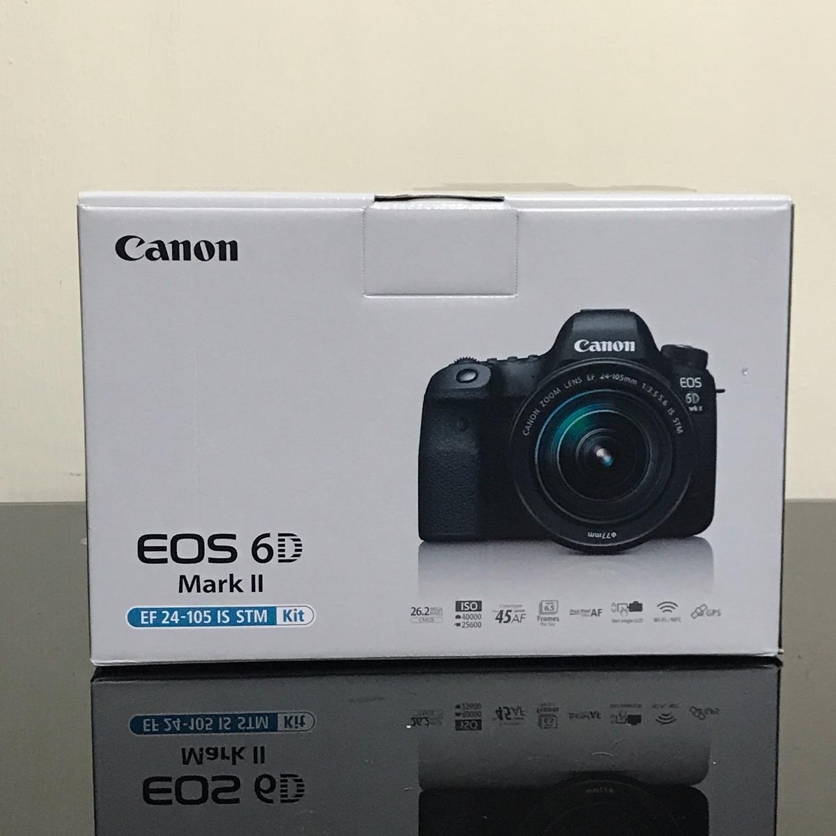 Canon Eos 6d Mark Ii Lente Canon 24-105 Stm Nuevo En Caja - S/ 7.800 ...