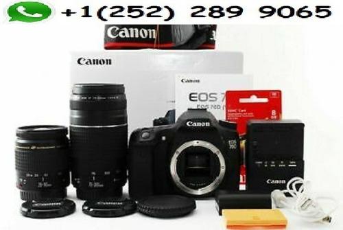 canon eos 70d digital camera 18.0 mp slr with lens bundle