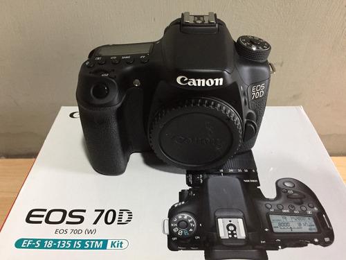 canon eos 70d + sd 4gb + magicfiber