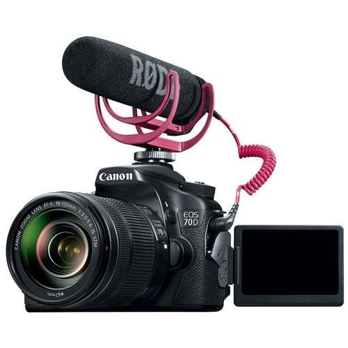 canon eos 70d video creator kit con lentes de 18-135mm,...