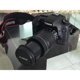 Canon Eos 7d / Lente Efs 18-135mm