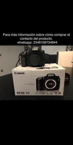 canon eos 7d cámara slr digital