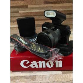 Canon Eos M Kit 18-55m + Flash Canon