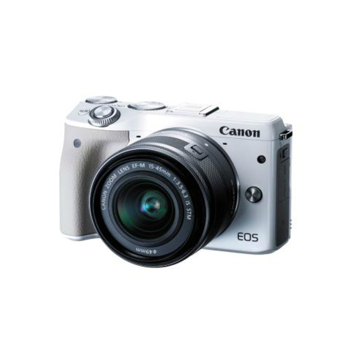 Canon Eos M3 With Ef M 15 45mm Camera Kit White 2242650 En M10 Is Stm Cargando Zoom