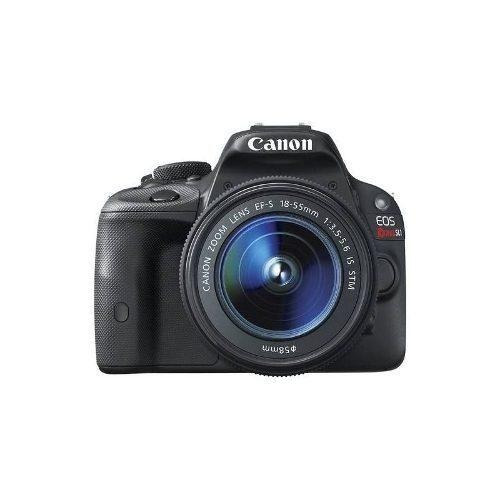 canon - eos rebel sl1 la cámara réflex digital con lente de