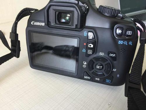 canon eos rebel t3-lente efs 18-55 + lente 75-300+acessórios