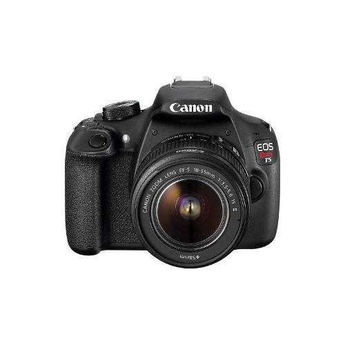 canon - eos rebel t5 cámara dslr con lente 18-55mm is - negr