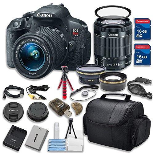 canon eos rebel t5i cámara digital cmos de 18.0 mp vídeo hd