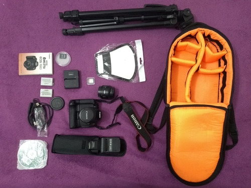 canon eos rebel t5i + kit (clicks 23415)