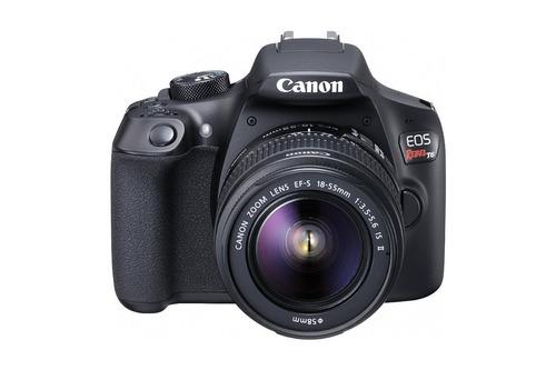 canon eos rebel t6 cámara slr lente ef-s de 18-55mm