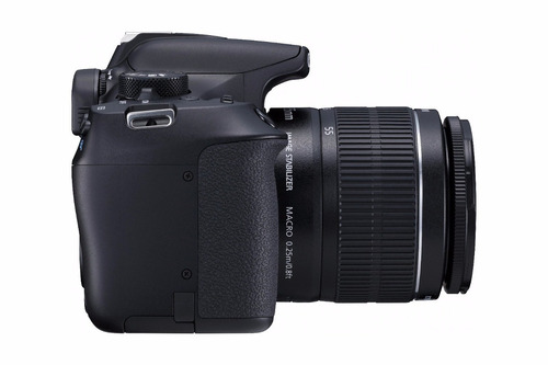 canon eos rebel t6 dslr cámara w- 18-55mm y ef 75-300mm lent