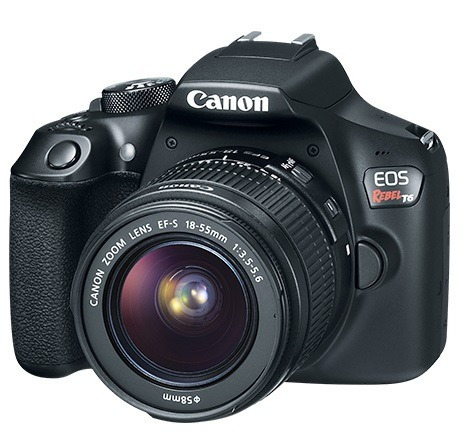canon eos rebel t6 kit 18-55 mm camara reflex 18mp nfc wifi