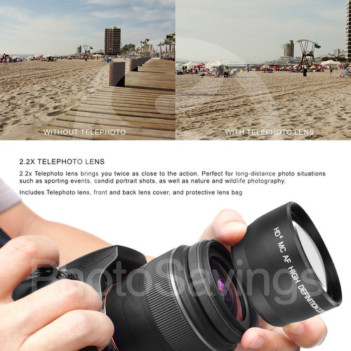canon eos rebel t6i + ef-s 18-55mm is kit de lentes stm + pa