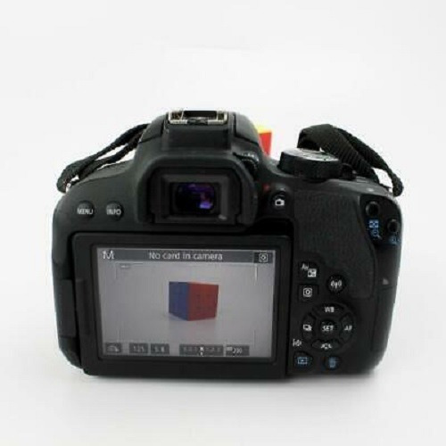 canon eos rebel t7i dslr camera with 18-55 is stm lens