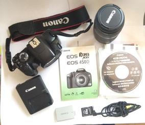 Canon Eos Rebel Xsi Con Lente Telefoto 75-300