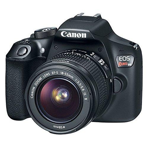 canon eos rebelde slr t6 cámara cuerpo + canon ef - s 18-55